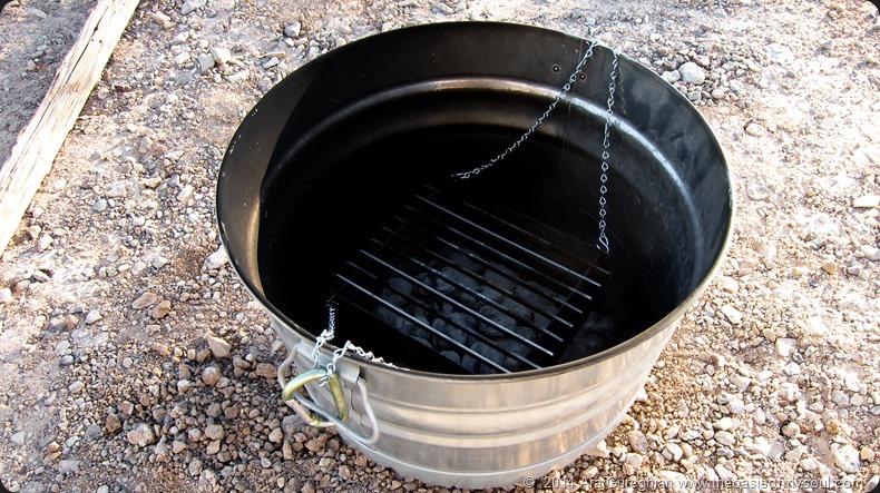 Makeshift grill-2 xxx