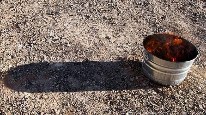 Makeshift grill xxx