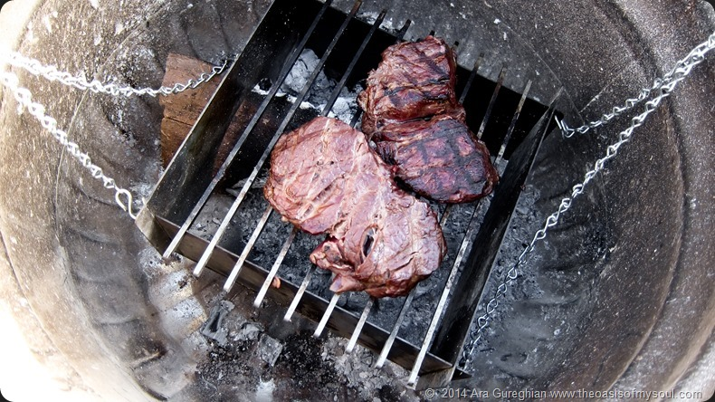 Steaks on the grill xxx