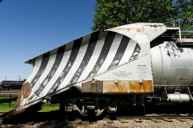 Laramie ~ Train snow plow-3