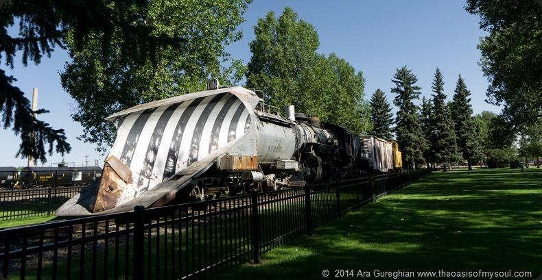 Laramie ~ Train snow plow