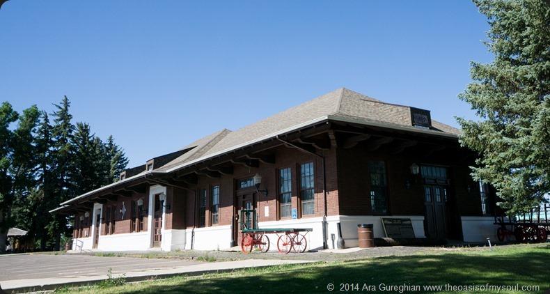 Laramie train depot xxx