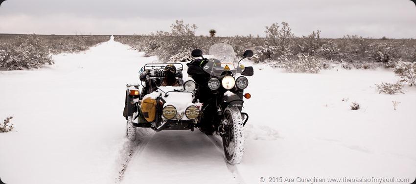 Snow riding PCTB 64