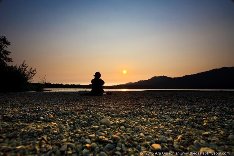 Meditation at the Lake SM