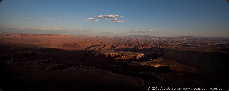 white rim trail sunset xxx